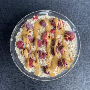 Schokopudding-Proteinbowl