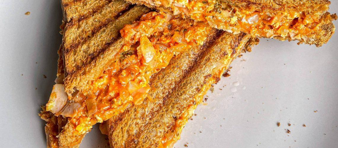 Protein Pizza-Toast